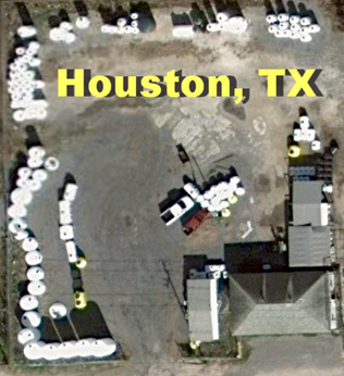 Tank Depot of Houston Satellite View
