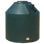 305 Gallon Green Plastic Water Tank