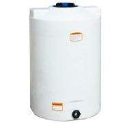 100 Gallon Vertical Liquid Storage Tank