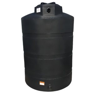 500 Gallon Black Plastic Water Tank
