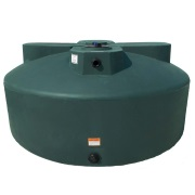 1525 Gallon Green Plastic Water Tank