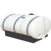 "500 Gallon Elliptical Tank w/ 8.5"" Deep Sump"