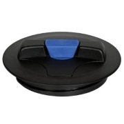 "8"" Lid With Blue Snap-In Vent (California)"
