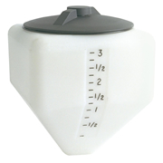 4 Gallon Square Specialty Rinse Tank