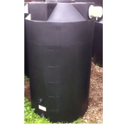 250 Gallon Black Rain Harvest Tank
