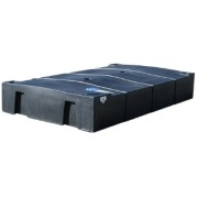 300 Gallon Low Profile Holding Tank - Black