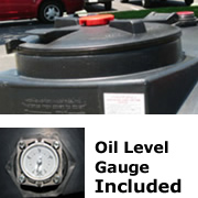 385 Gallon Oil-Tainer&reg&#59; w/ Oil Level Gauge