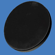 Chem-Tainer Black Poly Cover for 85 Gallon Brine Tank #TC2832AF-BLACK