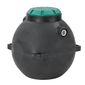 Snyder 300 Gallon Dominator Spherical Septic Tank