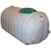 500 Gallon Single Compartment / 1 Manholes Septic Tank - Preplumbed