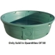 920 Gallon Green Poly Round Stock Tank