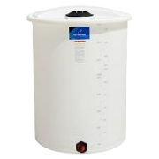 200 Gallon Vertical Plastic Storage Tank