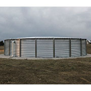 77000 Gallon Steel Water Tank