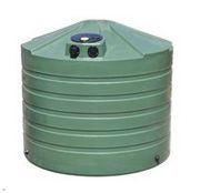 1320 Gallon Bushman Polyethylene Low Profile Round Tank