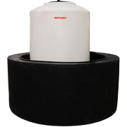 Chem-Tainer 2075 Gallon Containment Basin #969662OA-BLACK