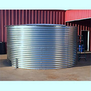 13912 Gallon Dome Roof Steel Rainwater Tank
