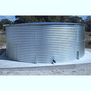 24555 Gallon Dome Roof Steel Rainwater Tank