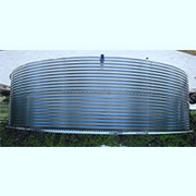 31078 Gallon Dome Roof Steel Rainwater Tank