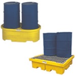 55 Gallon Drum Spill Containment Pallets