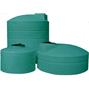 1700 Gallon Plastic Water Storage Tank