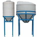 Dura-Cast Cone Bottom Tanks, Inductor Tanks, Brewing Tanks