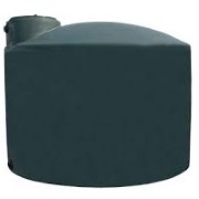 3000 Gallon Green Plastic Water Tank
