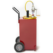 HMC 30 Gallon Portable Steel Gas Caddy