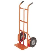 "Meco 200 Series Hand Truck, Two-Handle 46"", Semi-Pneumatic Tires"
