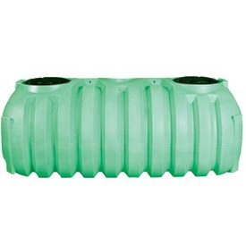1000 Gallon 1 Compartment Plastic Septic Tank (Preplumbed)