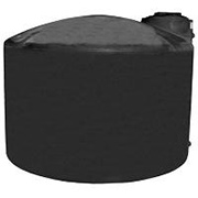 2550 Gallon Black Plastic Water Tank