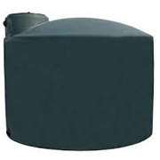 2550 Gallon Green Plastic Water Tank