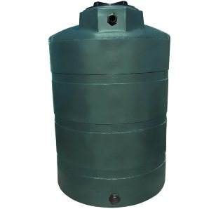 1000 Gallon Plastic Water Storage Tank (TX & CA Black Tanks Ships In 48 Hrs)