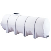 1625 Gallon Horizontal Poly Leg Tank
