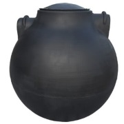 300 Gallon Spherical Pump Tank (Oklahoma Ships In 48 Hrs)