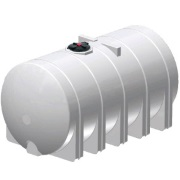 6025 Gallon Horizontal Poly Leg Tank