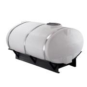 Norwesco 750 Gallon Elliptical Skid Mounted Tank #40329