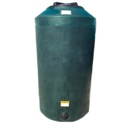 165 Gallon Green Plastic Water Tank