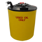 100 Gallon Double Wall Waste Oil Tank with Oil Level Gauge