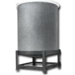 FRP Encased Cone Bottom Tanks