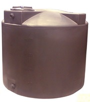 Poly-Mart 1000 Gallon Vertical Water Storage Tank