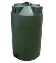 Poly-Mart 125 Gallon Vertical Water Storage Tank