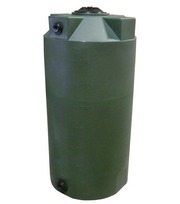 Poly-Mart 150 Gallon Vertical Water Storage Tank