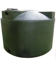 Poly-Mart 1500 Gallon Vertical Water Storage Tank