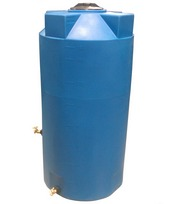 Poly-Mart 150 Gallon Heavy Weight Emergency Water Storage Tank 1.9 SG