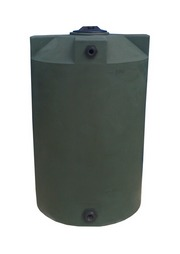 Poly-Mart 200 Gallon Vertical Water Storage Tank