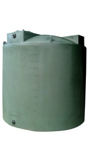 PolyMart 2500 Gallon Plastic Water Storage Tank