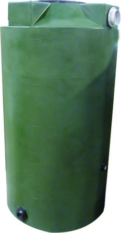 Poly-Mart 250 Gallon Rainwater Harvesting Tank