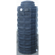 200 Gallon Black Plastic Water Storage Tank