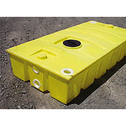250 Gallon Quadel Portable Aboveground Septic Holding Job Tank