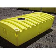 350 Gallon Quadel Portable Aboveground Septic Holding Job Tank